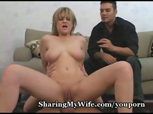 Wifes Pussy Is Crazy For New Cock