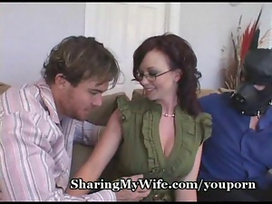Hot Babe With Wimp Hubby
