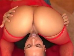 Red Stocking Clad Sluts