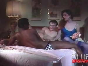 Retro bisexual video with guys sucking cock