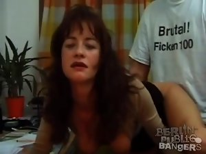 His secretary spreads legs and takes his cock