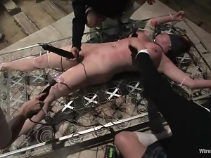Revengeful School Girls Dominate and Torture Their Teacher in BDSM