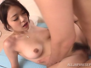 Bushy beaver of Kana Tsuruta needs some penetration