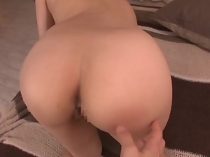Mei Kago sucks a cock before and after getting her vag drilled