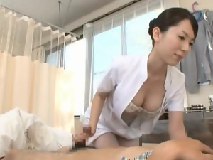 Big Titted MILF Nurse Gives This Patient A Thrill