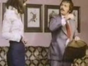 German couple enjoys some naughty banging in terrific retro clip