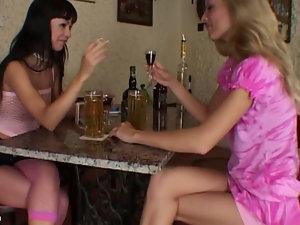 Напилась красавица русское порно