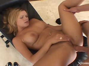 Big cock anal sex with a sticky facial cumshot