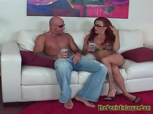 Big Tits Shannon Screwed In the Ass By A Tattoed Guy