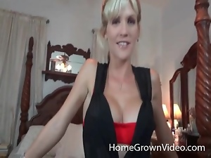 Blonde with a firm fit body fucked in her pussy
