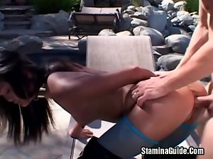 Big Tits Blonde Fucked Hard And Got Facial