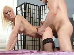 Dirty milf rough fuck and facial