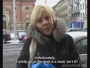 Czech Streets - Jitka Tempted To...