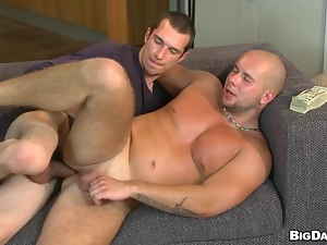 Raunchy anal banging for homo