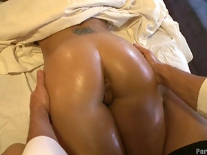 Delicious doggystyle pounding