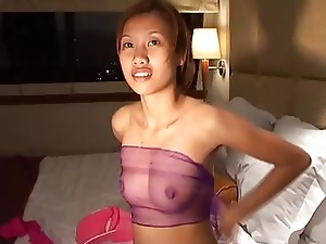 Thai Teen Sucks Pleasure And Cas...