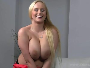Milf with huge tits fucked and creamed
