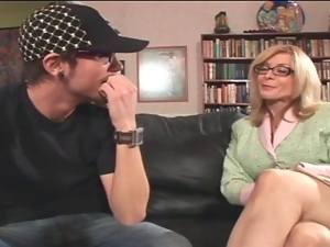 Hot Nina Hartley Drilled By A Yo...