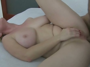 Aged mom trying anal with her young boy