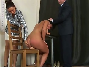 Hot newbie toyed at the job interview