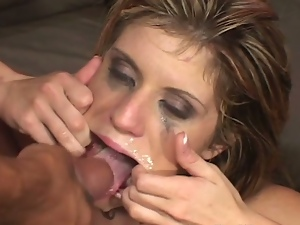 Extreme cocksucking slut