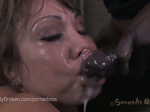 Perverse slaves enjoy a rough bdsm fuck