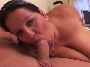 Huge bbw brunette nailed hard