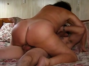 50 years old nasty slut getting her pussy banged