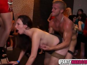 Insane fucking at the party