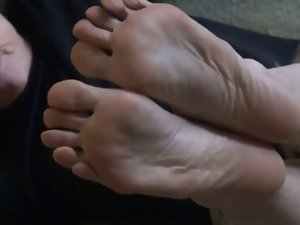 Attractive mom feet and soles