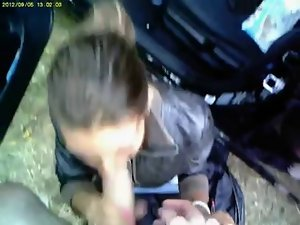 Romanian Gipsy Sizzling teen Prostitute Public Cock sucking