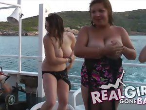 Blow Job Boat Party in Shagaluf