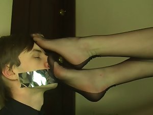 Polish Blond Foot Worship and Smother