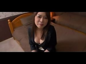 lovely Seductive japanese filthy bitch blows her lover