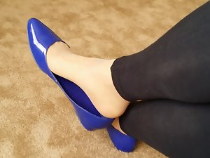 Flats Pantyhose Dangle
