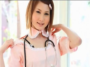 JUNNA Minami in the nurse costume