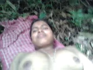 DESI Girlfriend Nude SHOW N Banging IN FIELDS