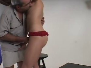 Very hairy Daddy Screws His Actress - Str8