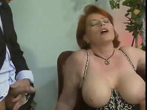 German Crazy threesome action - 17