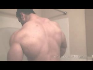 Big Max in Shower