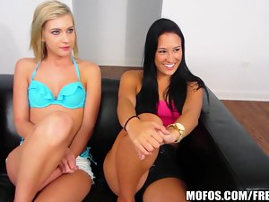 Mofos - Truth or dare turns into suck and fuck