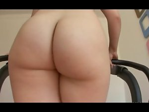 Thick Bum Nympho (TAB) walk on Treadmill PAWG