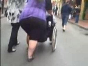 SSBBW on the street