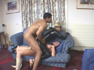 English Blond Catsuit DP