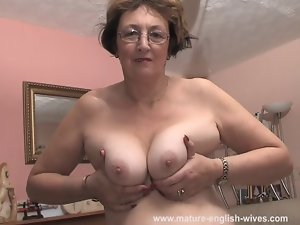Attractive mature English Joyce