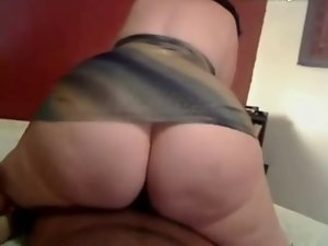 PAWG Naughty butt Rides
