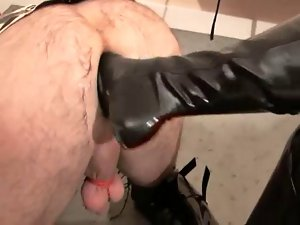 Sissy Bum turns Rubber Pussy and more...