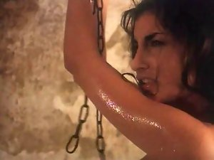 Sarah 19 years old getting banged in dungeon