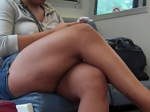 Candid Sexual Crossed Legs 20