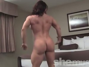 Brandimae - Luscious Muscle Lass Strips and Flexes